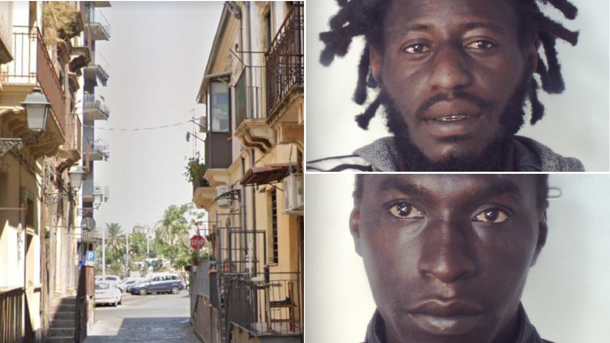 San Berillo via Reggio Carabinieri
