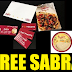 Free Sabra Hummus Rescue Kit. Comes With Coupons, Stickers and Recipe Booklet