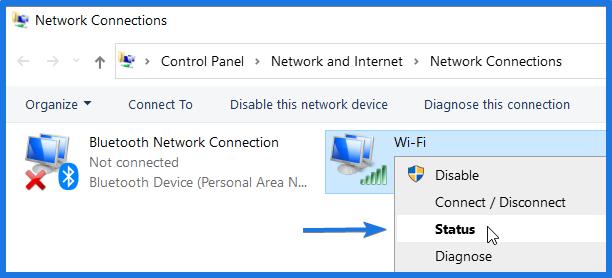 Check WiFi Status