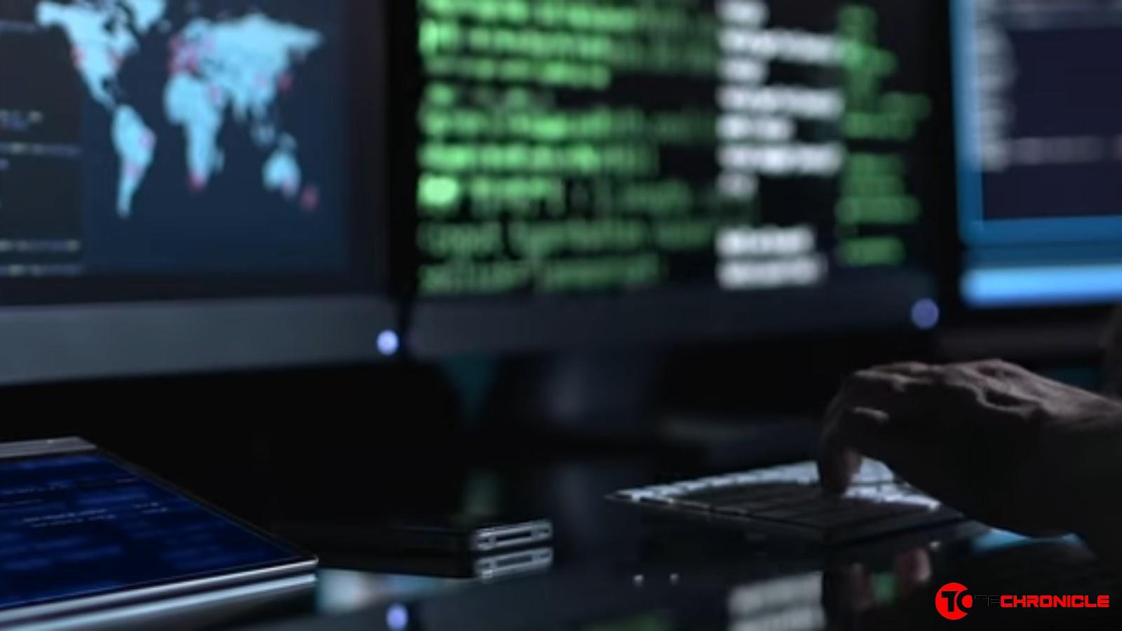 Hacking Screen Techronicle