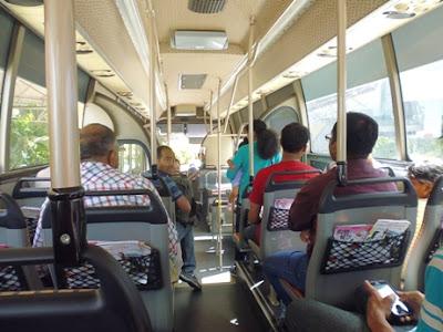 Bus keliling Singapura Gratis