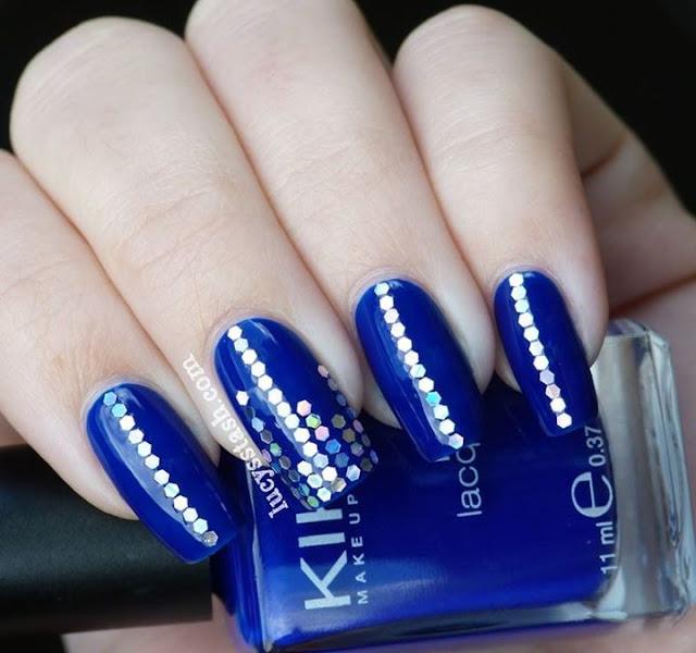 Unas Decorado Azul Rey La Mejor Tendencia De Moda Decorado Y Moda