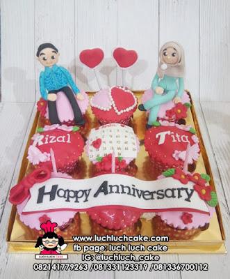 Cupcake Anniversary dan Engagement