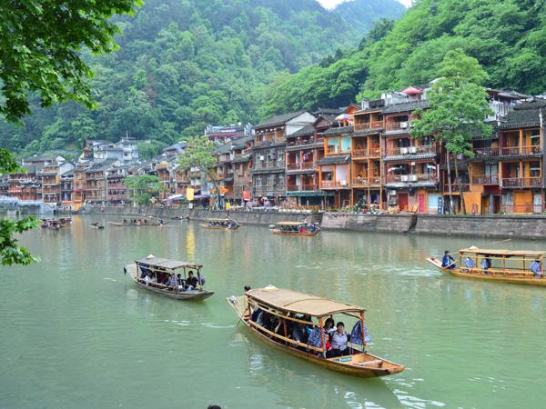 เมืองโบราณเฟิ่งหวง (Fenghuang Ancient Town: 凤凰古城)