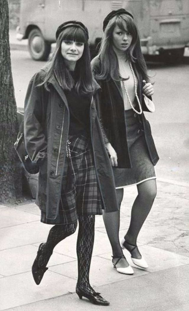 Mod Fashion Characteristic Of British Young People In The 1960s