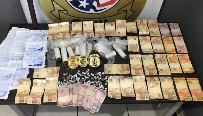 Integrante de facção é preso com grande quantia em dinheiro em Miranda do Norte-MA
