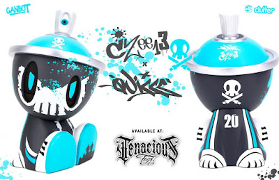 Tenacious Toys Exclusive The Heisenberg Battle Damaged Canbot Vinyl Figure by Quiccs x Czee13