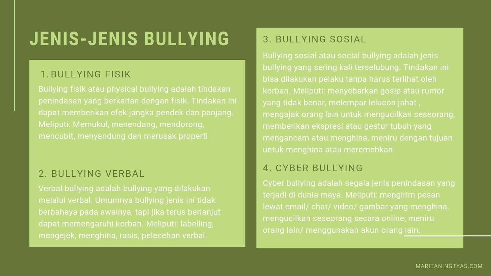 jenis-jenis bullying pada keluarga pasien covid 19 dan tenaga medis