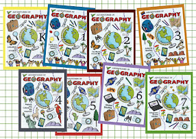 Arizona Geographic Alliance Geography Activity Books. Cover art and design by Mark A. Hicks