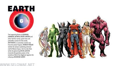 earth 6 daftar bumi dc