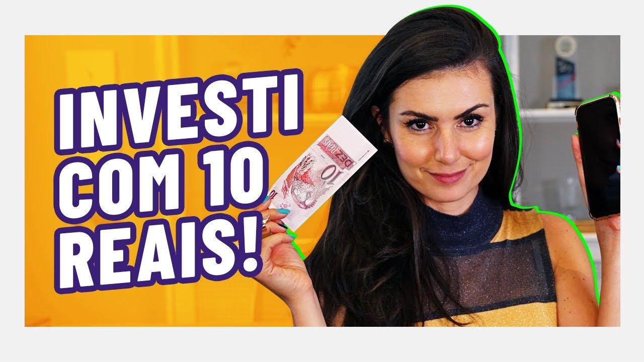 TOP 3 INVESTIMENTOS A PARTIR DE 10 REAIS! CDI, Ações e Cripto!