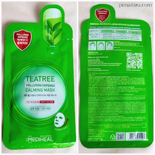 Mediheal Tea Tree Pollution Defense Calming Mask