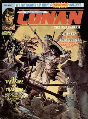 Savage Sword of Conan #43
