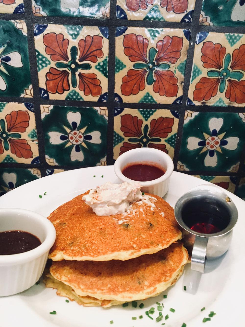 corncake at cafe pasqual's