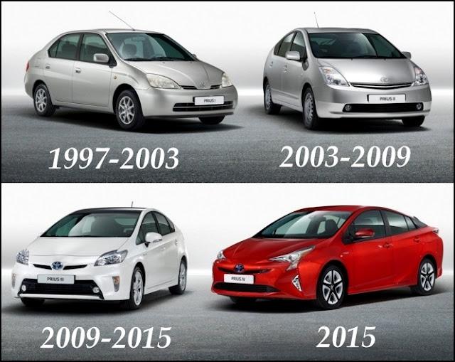 Toyota Prius Hibrid Terbaru 2016 (Generasi ke-4)