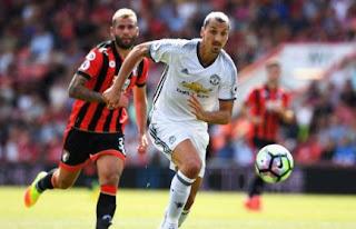 Manchester United Menang 3-1 atas AFC Bournemouth