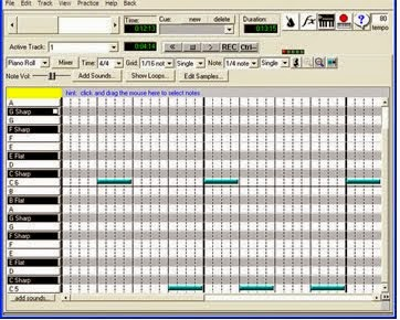 Software to create backing tracks for free