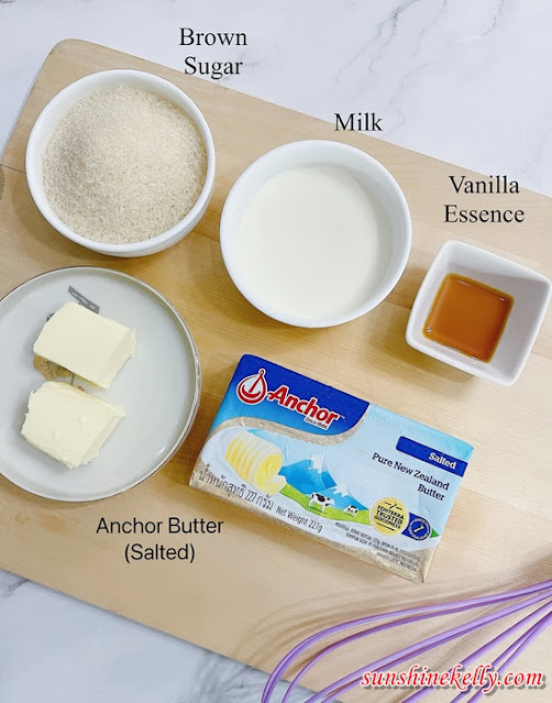 Butterscotch Sauce Recipe,  Butterscotch Pancakes Recipe, Anchor Butter, Cooking, Food, Dairylicious, Anchor Dairy Malaysia,