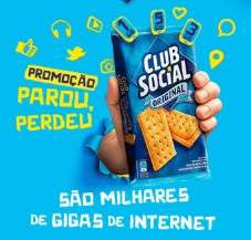 Promoção Club Social 2018 Ganhe Internet