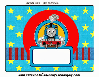 homas the Train Free Printable  Labels.
