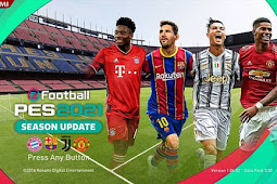 New Start Screen PES 2021 For - PES 2017