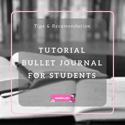 tutorial bullet journal indonesia untuk pelajar