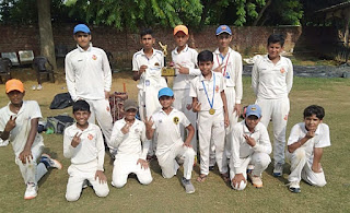 रविंदर फागना क्रिकेट अकादमी ने महेश क्रिकेट अकादमी को 83 रन से हराया
