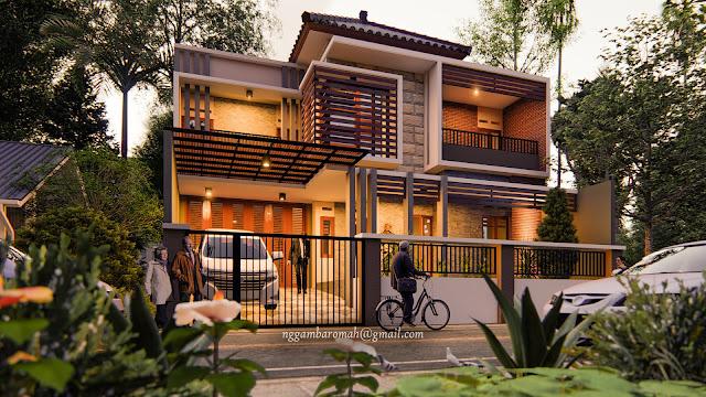 The Eastpoint House, Hunian Elegan & Modern di Blitar