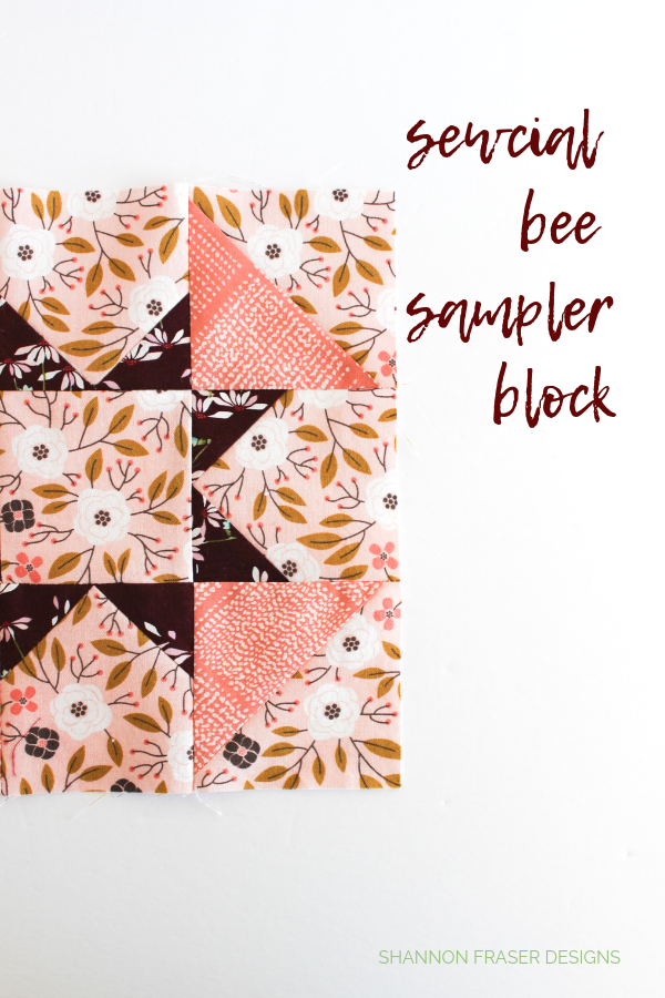 Sewcial Bee Sampler Q4 Finish-a-Long List of Projects | Shannon Fraser Designs #sewalong