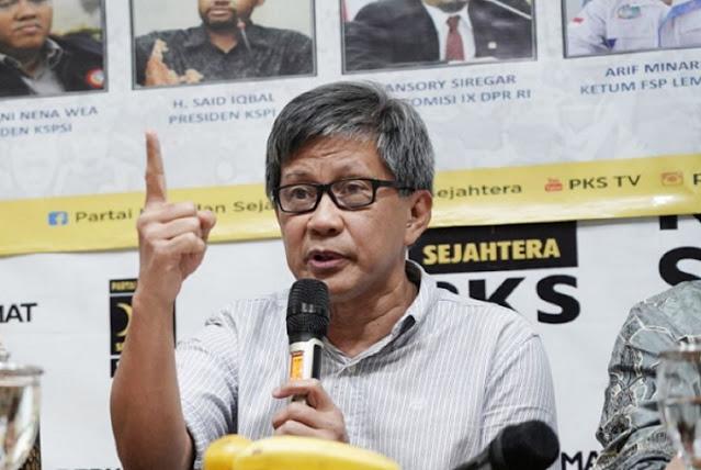 Bayangkan PKS Menang, Rocky Gerung: Pasti Oligarki Kocar-Kacir