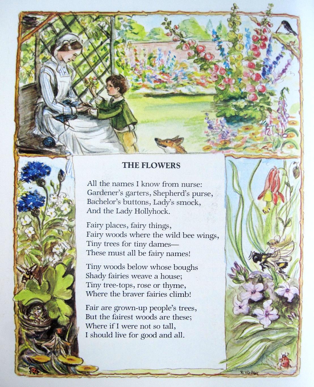 Flutterby Patch: Flower filled days