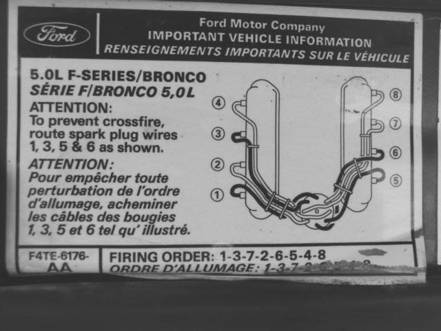 1997 Ford F 150 4 6 Firing Order Diagrams
