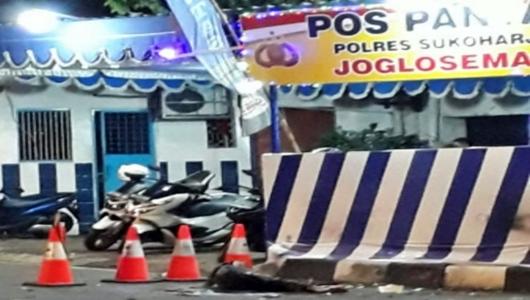 Ledakan di Pospam Polisi Kartasura Dipastikan Bom Bunuh Diri