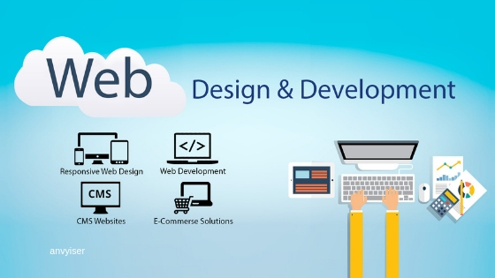 Web Development - Anvyiser