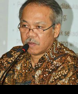 Gambar Menteri PU dan Perumahan Rakyat Basuki Hadi Muljono