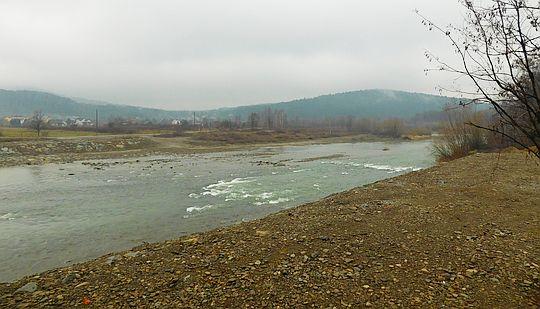 Rzeka Skawa.