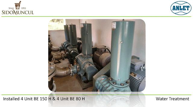 Root Blower untuk pengolahan air limbah