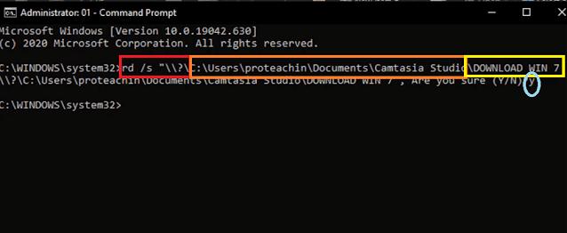 حذف الملفات الغير قابلة للحذف ازالة الملفات المستعصية مسح الملفات التي لا تمسح دون برنامج حذف الملفات