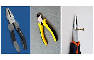 alat kerja listrik atau electrician tools