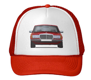 MB W123 hat caps