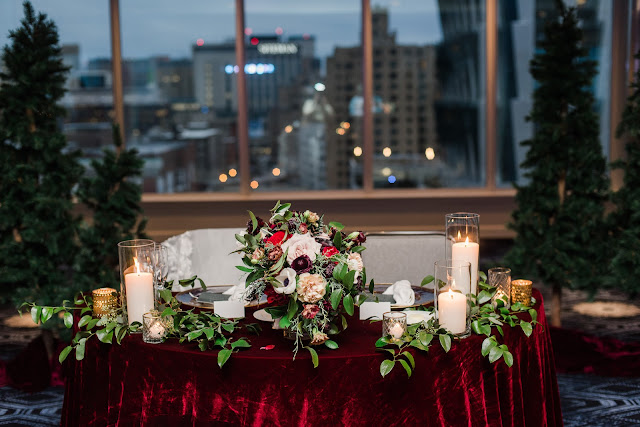 Amanda & George's Outdoor Winter Wedding at The Chase Park Plaza | St. Louis Wedding Photographer & Videographer
