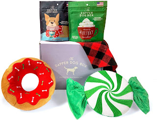 Dapper Dog Box Curated Fun Themed Dog Toy
