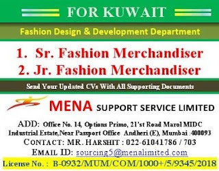 Fashion Design & Development Department