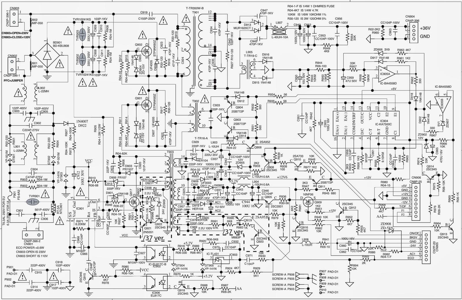 Fantastic Astec Power Supply Schematics Component - Simple Wiring ...