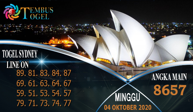 Angka Main Togel Sidney Pools Hari Minggu 04 Oktober 2020