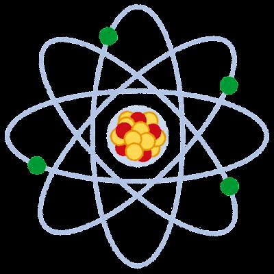 原子のイラスト
