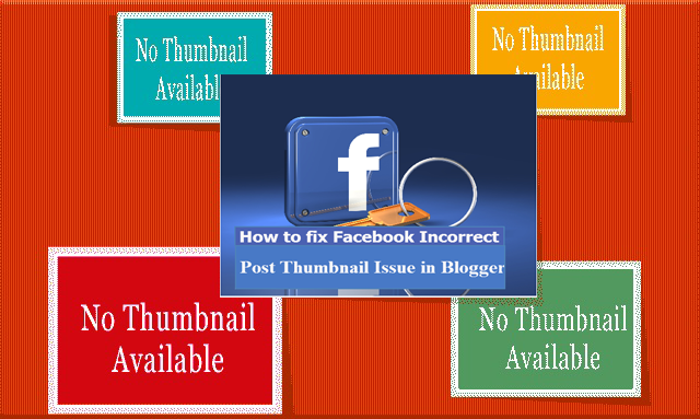 Cara Perbaiki Facebook Thumbnail Issue di Blogger