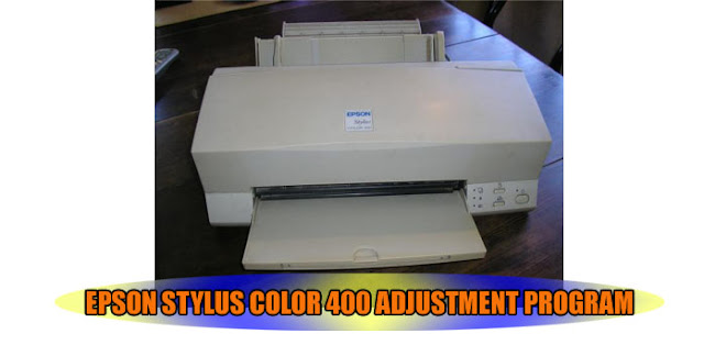 Epson Stylus Color 400 Printer Adjustment Program