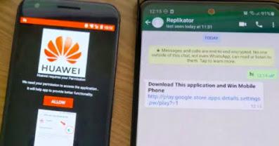 Malware android terbaru disebarkan lewat whatsapp