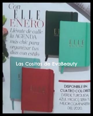 Regalo Agenda Revista Elle Enero 2020